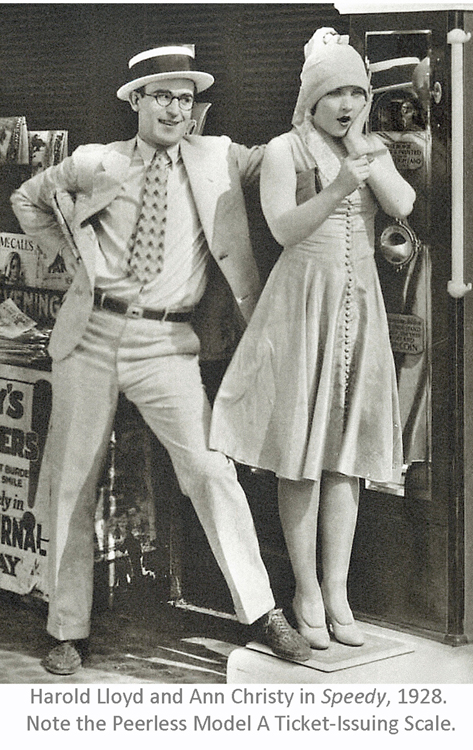 Harold Lloyd and Ann Christy in Speedy, 1928