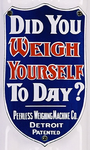 Did You Weigh Today