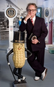 ChristopherSteele with Mr. Peanut scale